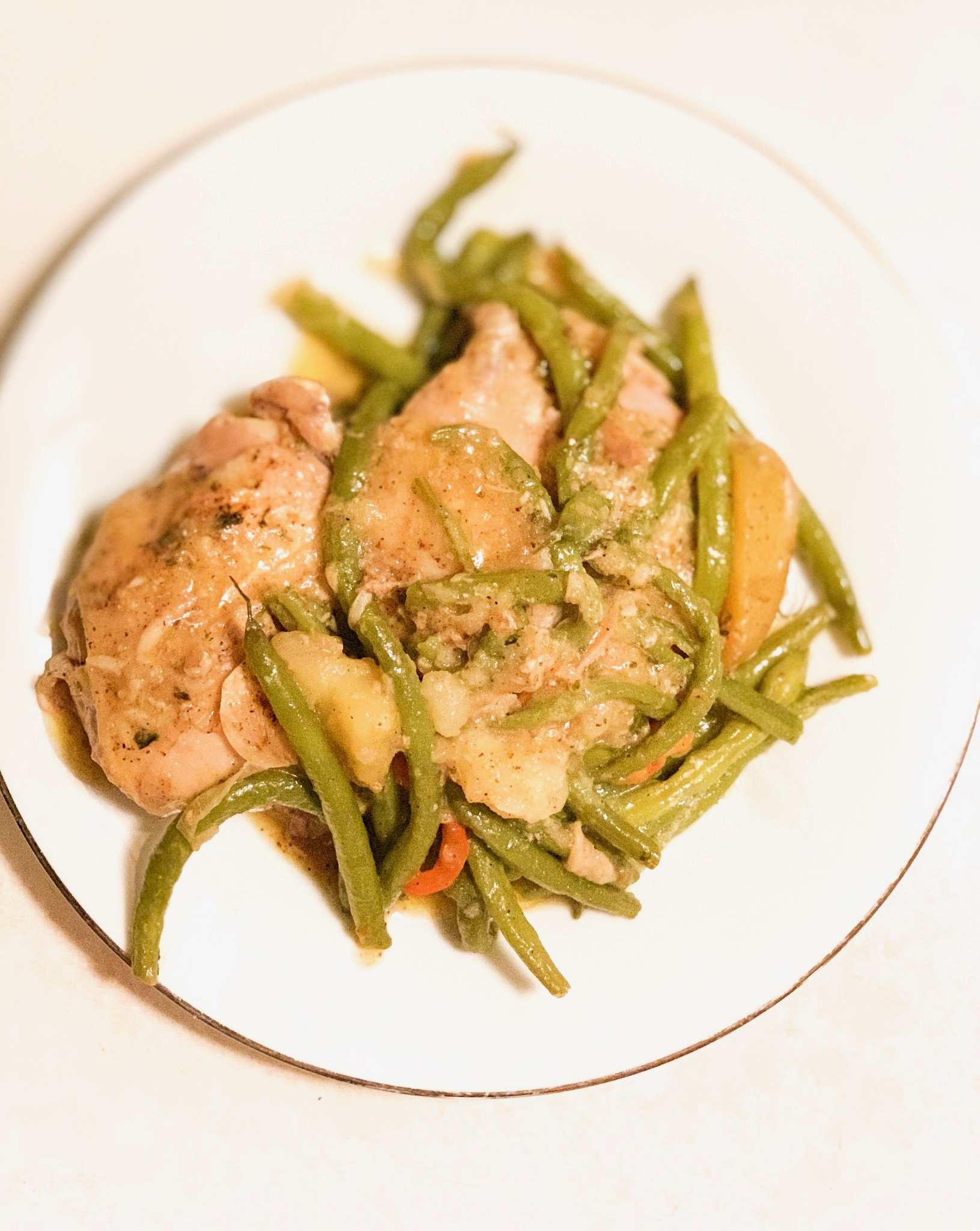 Easy Homemade Chicken Green Bean Recipe
